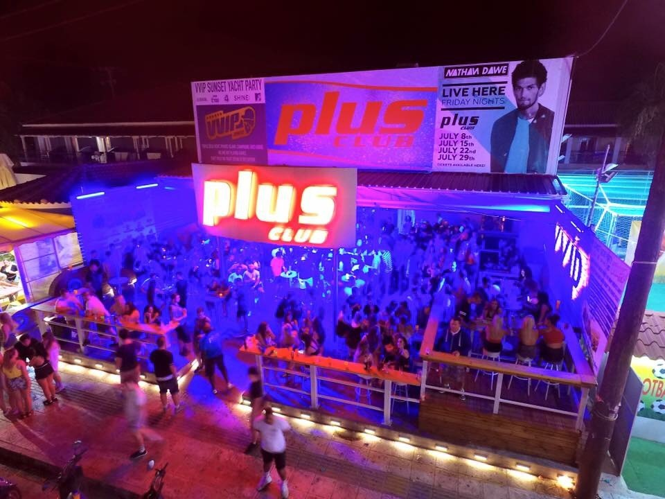 plus club zante nightlife