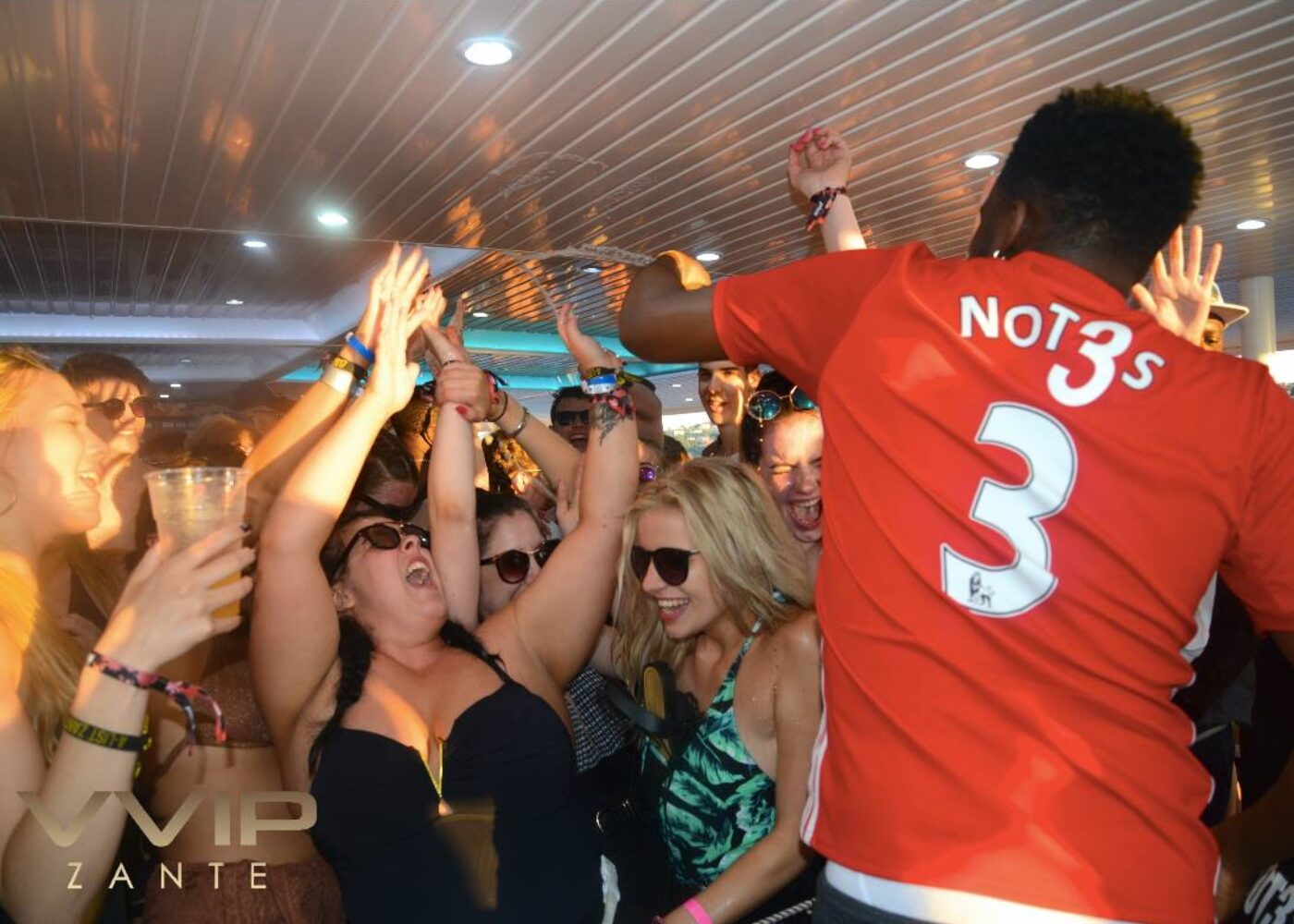 zante boat party