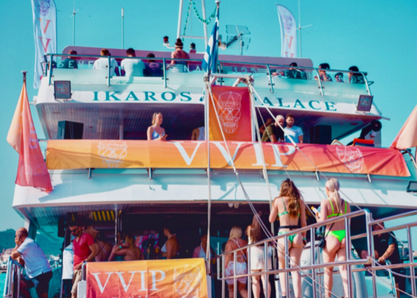 best zante boat party