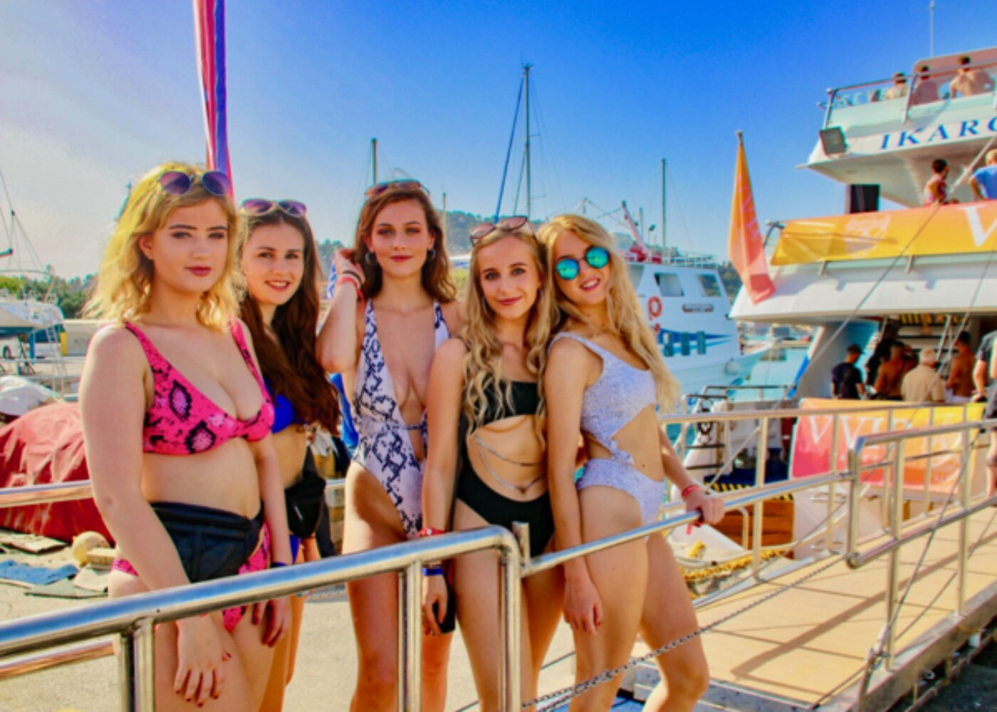 zante boat partys best