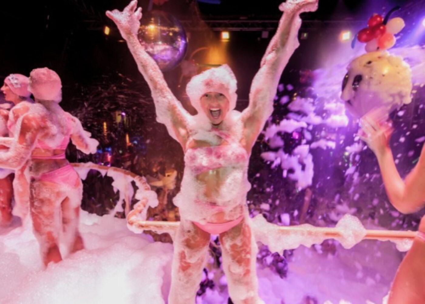 zante events june foam party