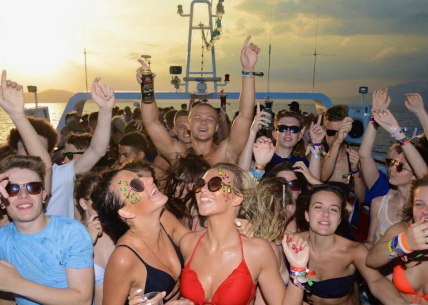 zante boat party 2022